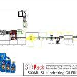 Llinell Llenwi Olew iro 500ML-5L awtomatig