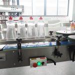 Glanhau Llinell Cartonning Botel Peiriant Llenwi Hylif